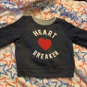 Heart breaker sweater